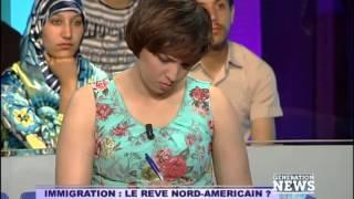 Génération News du 1er Juin 2014: Immigration en Amérique du Nord & Phubing