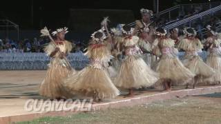 Republic of the Marshall Islands opening ceremonies dance performance at the 12th Festival of Pacific Arts 2016 Guam. The island is also known as the ...