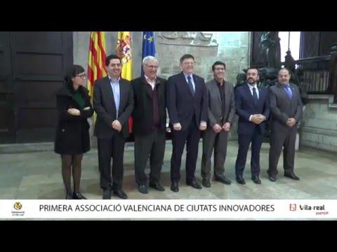 Presentación Xarxa Valenciana de Ciutats per la Innovació[;;;][;;;]