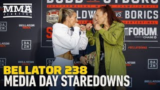 Bellator 238: Main Card Media Day Faceoffs - MMA Fighting by MMA Fighting