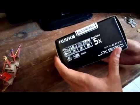 FUJIFILM JX580-(Español)   unboxing finepix