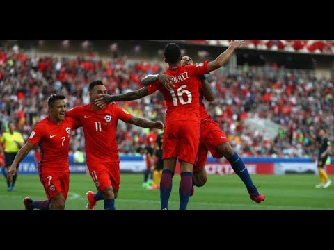 RAP Chile 1-1 Australia GOALS AND HIGHLIGHTS 2017 CONFEDERATIONS CUP