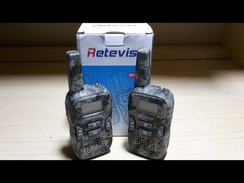 Recensione Walkie Talkie RT33 Retevis - ITA