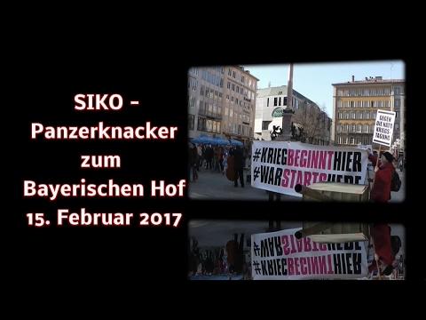 Siko- Panzerknacker zum Bayerischen Hof in München, 15.02. 2017