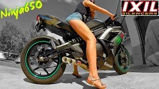 9. Kawasaki Ninja650 IXIL Hyperflow Full system Exhaust