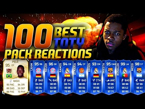 reactions - Fifa 15 100 Best TOTY Packs! Fifa 15 Live Pack Reactions, Big Pack Opening Video FT Pele in a pack and TOTY ronaldo in a pack, Messi, Ronaldo, Legend in a pack,... BIG SHOUTOUT TO DanHD ...