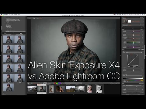 Alien Skin Exposure X4 vs Lightroom CC - Vergleichstest RAW-Konverter