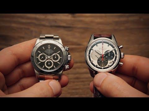 Rolex Daytona vs Zenith El Primero | Watchfinder & Co.
