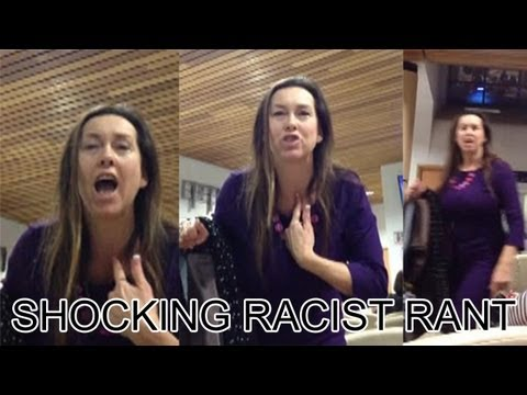 racist rant - A shocking video emerged today of a woman going on a rant to patients in a hospital waiting room. The two-minute clip, filmed on Saturday night at Ipswich Ho...