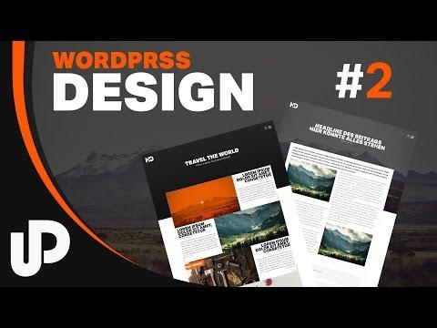 WordPress Design & erste Ausgabe | Tutorial | #2