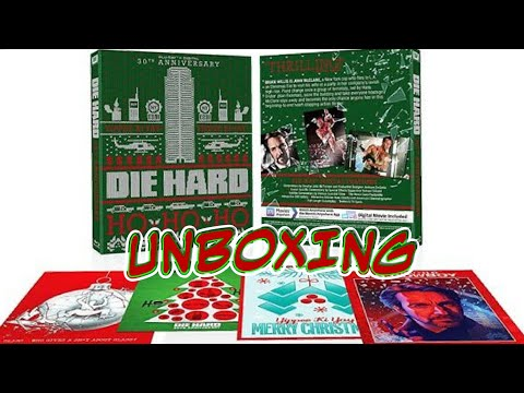 DIE HARD 30TH  ANNIVERSARY BLU-RAY  UNBOXING.
