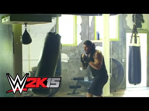 commercial - Roman Reigns discusses the new WWE 2K15 commercial and his excitement for the newest edition of WWE's venerated video game series. More ACTION on WWE NETWORK : http://bit.ly/1u4pM74 ...