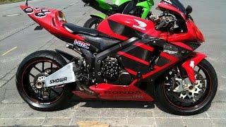 Best Honda CBR 600 exhaust sounds