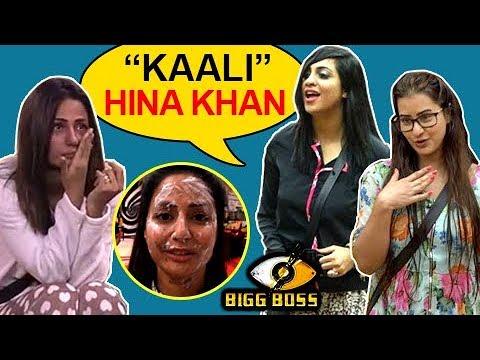 Shilpa & Arshi Call Hina BLACK | RACISM In Bigg Bo