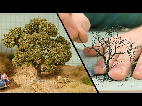 Wire Tree Tutorial   Model Railroad