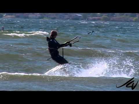 Kitesurfing Kelowna BC May 2015  – Okanagan Lake –   YouTube