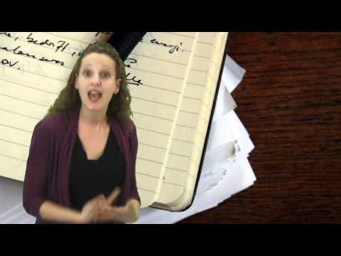 research - How To Write Research Paper: Creative Writing Lessons & Tips: Writebynight Justine Tal Goldberg discusses how to write a research paper including step by ste...