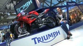 11. EICMA 2012: Triumph - The English manufacturer unveils new Daytona 675 and 675R
