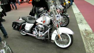 10. 2012 Harley-Davidson Touring Road King Classic at 2012 Montreal Motorcycle Show