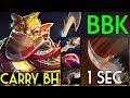 1sec Jinada + Carry Build Bounty Hunter by BabyKnight VS MegaCreeps 706 Dota 2