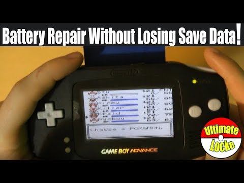 Battery repair - HOW TO REPAIR YOUR POKÉMON GAMEBOY BATTERY WITHOUT LOSING SAVE DATA!
