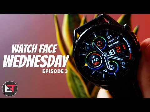 Galaxy Watch 3 Faces! Watch face Wednesday - Episode 3