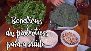 Benefícios dos probióticos para saúde