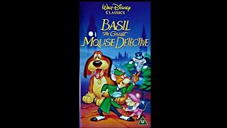 Opening to Basil The Great Mouse Detective UK VHS full download video download mp3 download music download