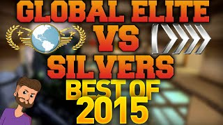 Video CS GO - Global Elite VS Silvers - Best of 2015! MP3, 3GP, MP4, WEBM, AVI, FLV Agustus 2019