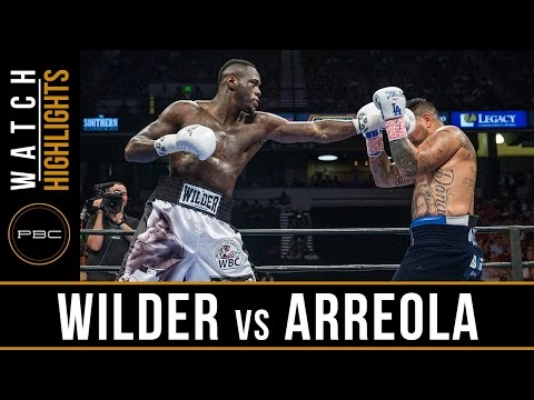 deontay wilder vs chris arreola - highlights