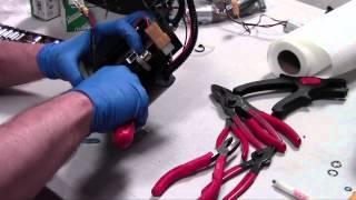 8. Ducati Flange Wire Install