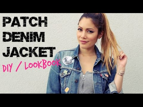 How I Style: Jeansjacke mit Patches - DIY/Lookbook | funnypilgrim
