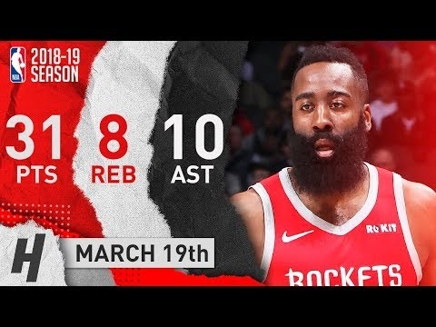 James Harden Highlights vs. Hawks