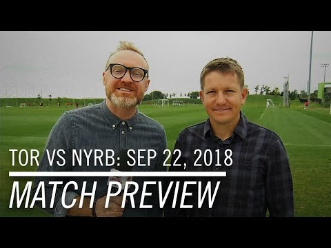 Video: Match Preview: Toronto FC at New York Red Bulls - September 21, 2018