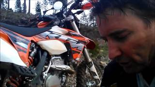 1. 2013 KTM 350 EXC-F  PERFORMANCE REVIEW 13/48 GEARING