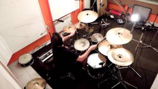 Video Dzidoš - The Matrones - Breaking Back (drum cam) 2016