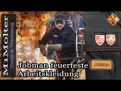 Feuerfeste Arbeitskleidung Jobman - Test von M1Molter