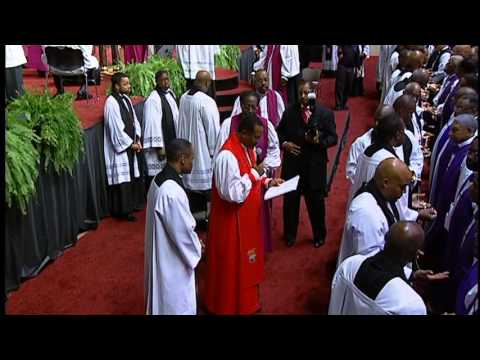 106th COGIC Holy Convocation 2013 installation OF BISHOP in St.Louis