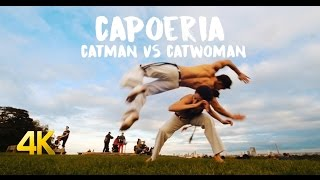 London Videographer Ali Kubba directs and films Catman vs Catwoman - Capoeira 4k!
