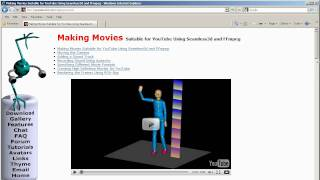 Making 3D Animated Movies Suitable For YouTube Tutorial