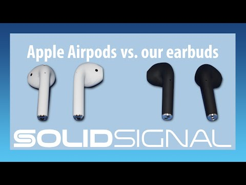 Which should you buy: Apple Airpods or our earbuds?
