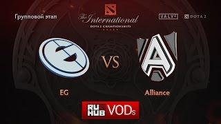 Alliance vs Evil Geniuses, game 2