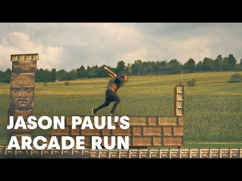 8Bit Video Game Parkour
