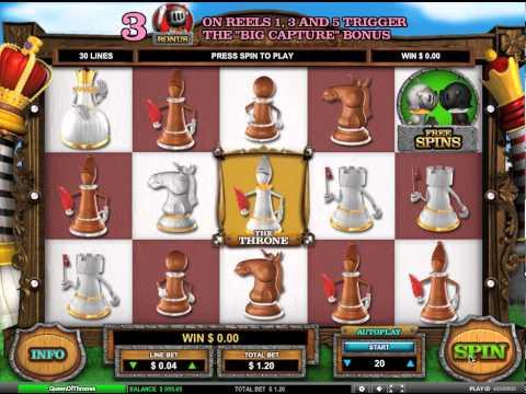 Queen of Thrones- Leander Games
