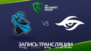 NewBee vs Secret, Bucharest Major, game 1 [Maelstorm, NS]
