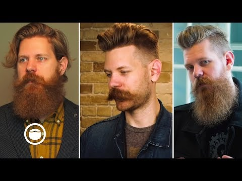 Beard styles - Critiquing My Past Styles