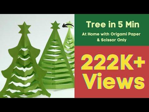 decorazione natalizia – albero di natale traforato
