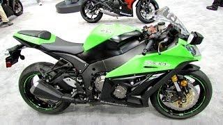 8. 2014 Kawasaki Ninja ZX-10R ABS Walkaround - 2013 New York Motorcycle Show