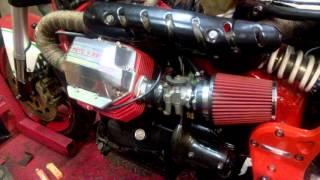 9. Moto Guzzi V11 Corsa SP with HARD CAMSHAFT - First start test !