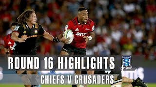 Chiefs v Crusaders Rd.16 2019 Super rugby video highlights | Super Rugby Video Highlights